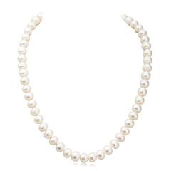 水年华经典永恒珍珠项链 货号119687