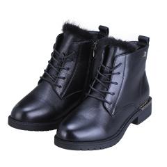 法國夢特嬌水貂毛時尚女靴  貨號124323