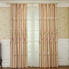 米卡歐式繡花窗簾超值組 貨號123700