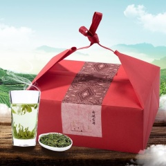 瓯叶绿茶 2017年明前特级西湖龙井 明前春茶 100g【买2袋送礼盒包装】