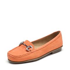 爱柔仕(aerosoles)缤纷马卡龙色牛皮休闲平底乐福女鞋1915401t02